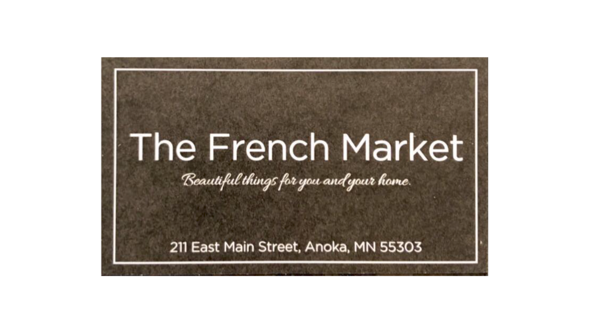 The French Market of Anoka